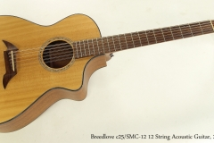 Breedlove c25/SMC-12 12 String Acoustic Guitar, 2013  Full Front View