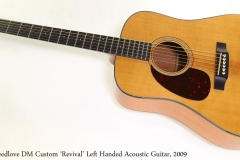 Breedlove DM Custom 'Revival' Left Handed Acoustic Guitar, 2009   Full Front View