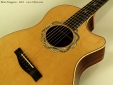 Brian Kingston Cutaway Acoustic 2012 rosette