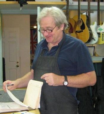 Brian Miller Memorial - Brian in the shop