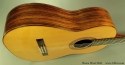 Bruce West Rosewood Classical Guitar Traditional Oil Finish, 2010 Side View