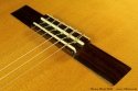 Bruce West Rosewood Classical Guitar Traditional Oil Finish, 2010 Bridge View