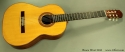 Bruce West Rosewood Classical Guitar Traditional Oil Finish, 2010 Full Front View