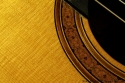 Bruce West Rosewood Classical Guitar Traditional Oil Finish, 2010 Rosette Detail