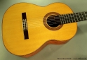 Bruce West Rosewood Classical Guitar Traditional Oil Finish, 2010 Top View