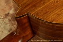 Bruce West Spruce Top Classical Guitar 2013 heel