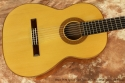 Bruce West Spruce Top Classical Guitar 2013 top