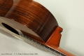 C. A. Potter Criterion Guitar, c1905 Heel and Fingerboard View