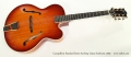 Campellone Standard Series Archtop Guitar Sunburst, 2002 Full Front View