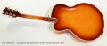 Campellone Standard Series Archtop Guitar Sunburst, 2002 Full Rear View