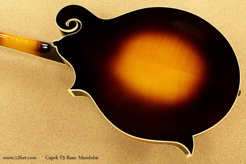 Capek F5 Basic Mandolin back