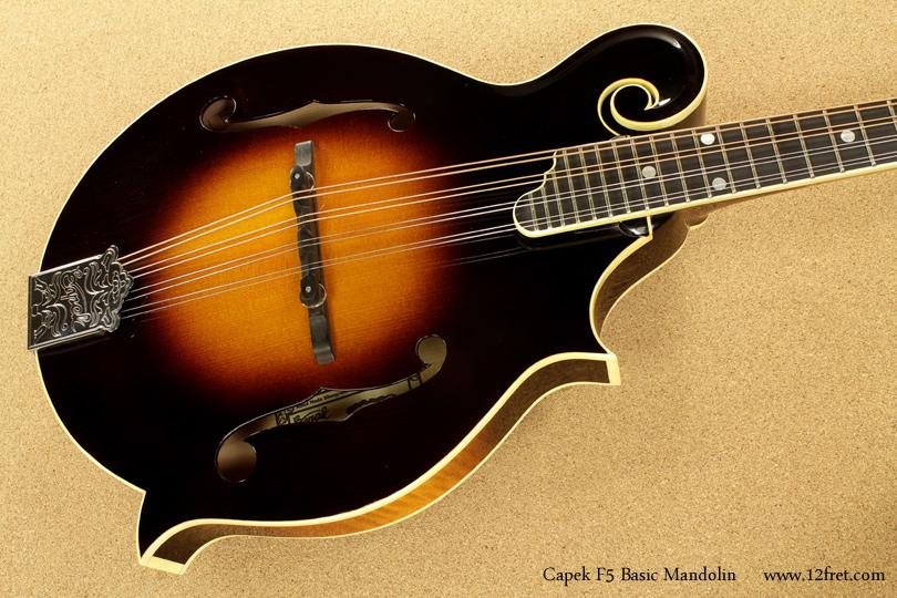 Capek F5 Basic Mandolin top