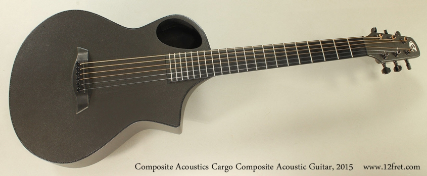 Composite Acoustics Cargo Composite Acoustic Guitar, 2015 Full Front View