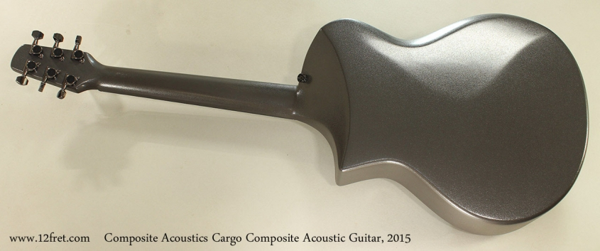 Composite Acoustics Cargo Composite Acoustic Guitar, 2015 Full Rear View