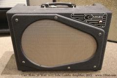 Carr Bloke 50 Watt 1x12 Tube Combo Amplifier, 2015  Full Front View