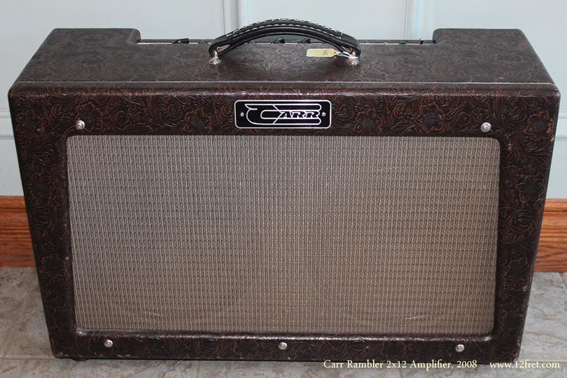Carr Rambler 2x12 Amplifier 2008 front