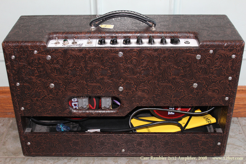 Carr Rambler 2x12 Amplifier 2008  back