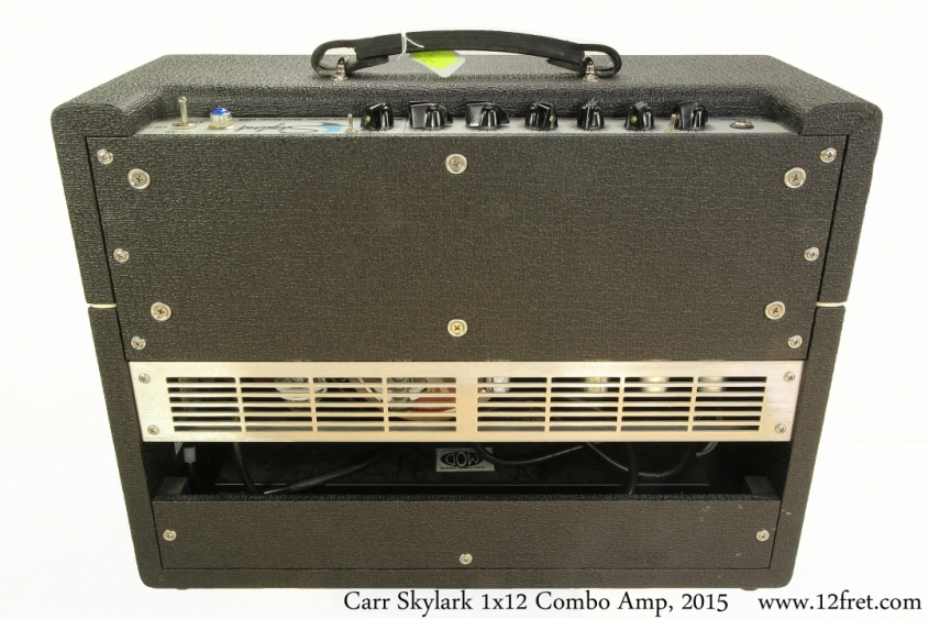 Carr Skylark 1x12 Combo Amp, 2015 Full Rear View