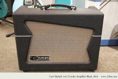 Carr Skylark 1x12 Combo Amplifier Black, 2014 Full Front View