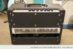 Carr Skylark 1x12 Combo Amplifier Black, 2014 Full Rear View