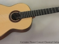 Cervantes Hauser Concert Classsical Guitar, 2013 Full Front View