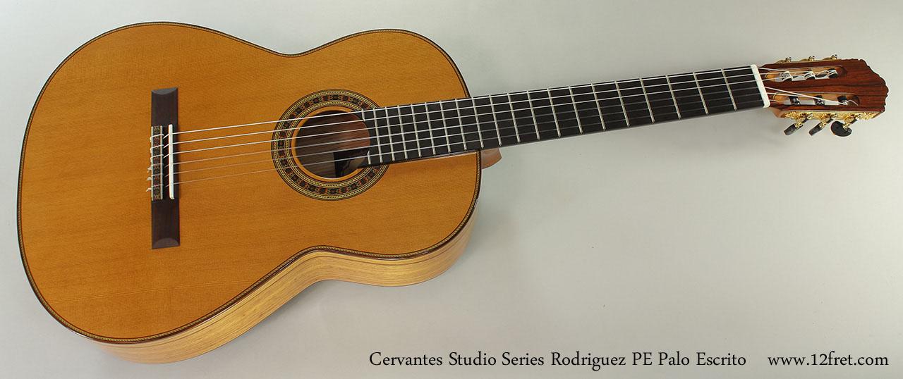 Cervantes Studio Series Rodriguez PE Palo Escrito Full Front View