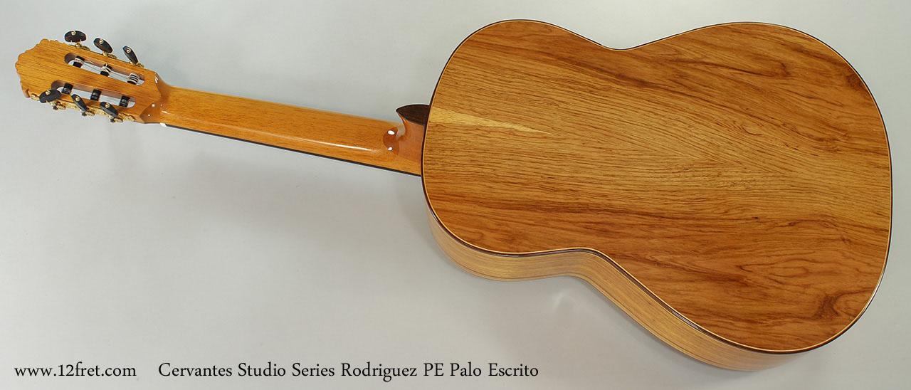 Cervantes Studio Series Rodriguez PE Palo Escrito Full Rear View