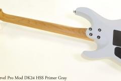 Charvel Pro Mod DK24 HSS Primer Gray Full Rear View