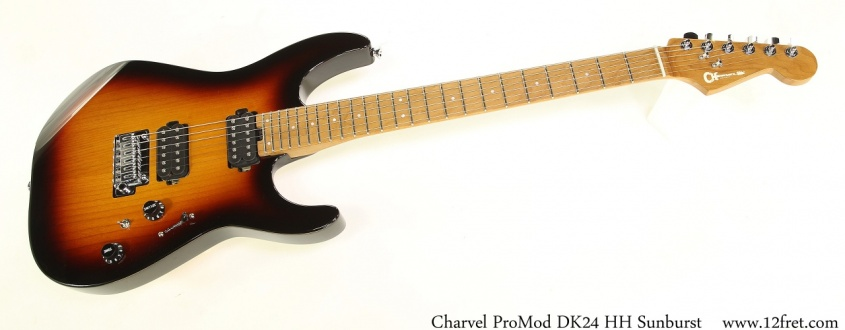 Charvel ProMod DK24 HH Sunburst Full Front View