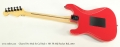 Charvel Pro Mod So Cal Style 1 HH FR MIJ Rocket Red, 2010 Full Rear View