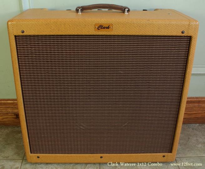 Clark Wateree 1x12 Combo Amplifier front