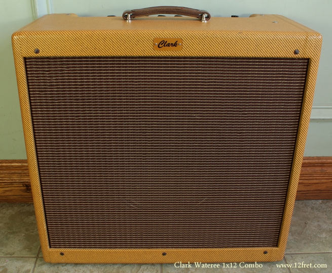 Clark Wateree 1x12 Combo Amplifier front