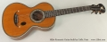 Romantic Guitar built by Coffe, Paris , 1850s Full Front View