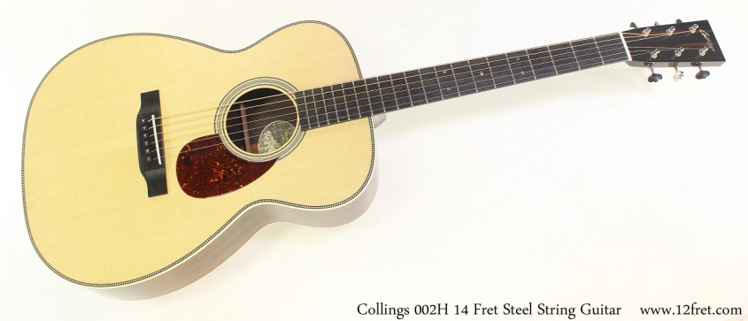 Collings 002H 14 Fret Steel String Guitar Full Front View