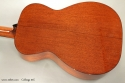 Collings 01E Englemann Top Steel String back