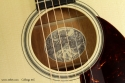 Collings 01E Englemann Top Steel String label