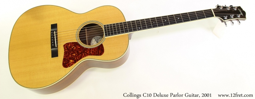 Collings C10 Deluxe Parlor Guitar, 2001 Full Front View