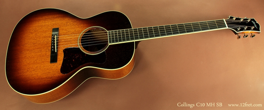 Collings C10 MH Sunburst full front view