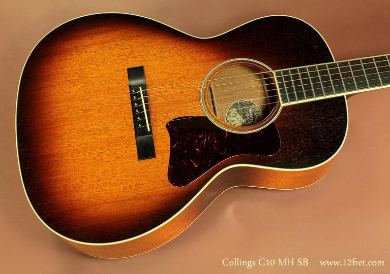 Collings C10 MH Sunburst top