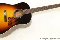 Collings CJ-35 GSB, 2019 Full Front View