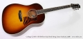 Collings CJ MH A SS SB Short Scale Steel String Guitar Sunburst, 2008 Full Front View