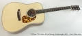 Collings CW Indian A Steel String Dreadnought, 2011 Full Front View