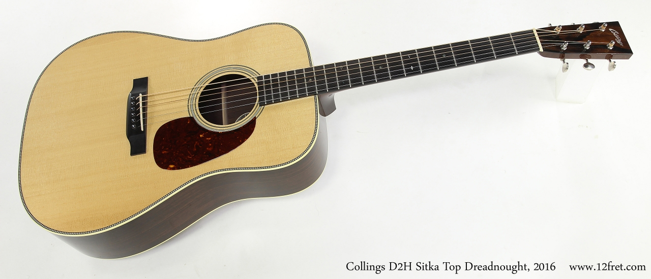 Collings D2H Sitka Top Dreadnought, 2016   Full Front VIew