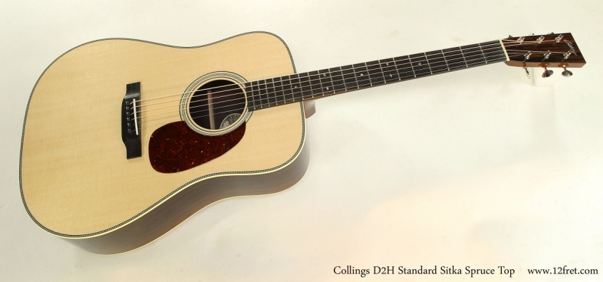 Collings D2H Standard Sitka Spruce Top  Full Front View