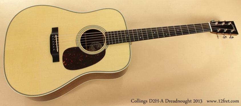 Collings D2HA 2013 Dreadnought full front view