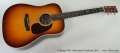 Collings D2H Adirondack Sunburst, 2011 Full Front View