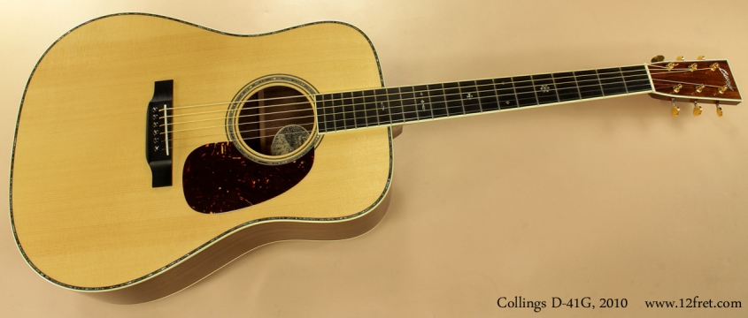 Collings D-41G Dreadnought 2010 full front view