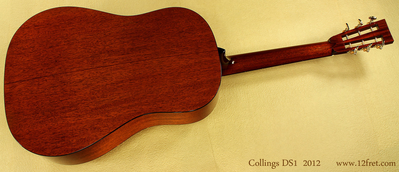 Collings DS1  full rear view