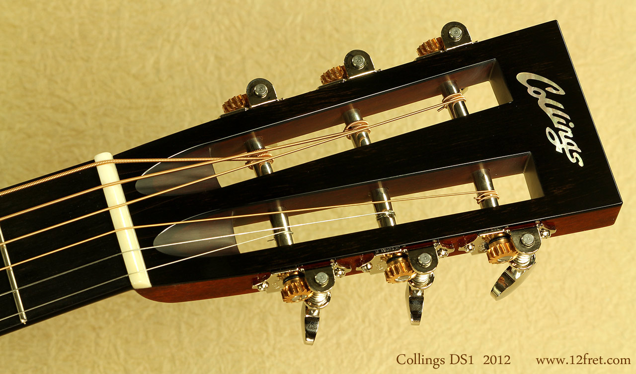 Collings DS1 head front