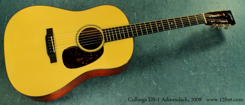Collings DS-1a Adirondack full front view